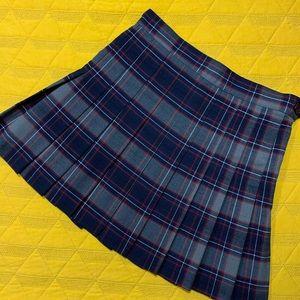 American Apparel Plaid School Girl Skirt